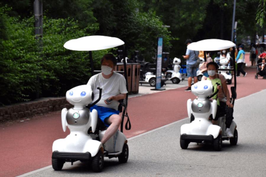 伴游机器人任逍遥在北京奥林匹克森林公园北园.png